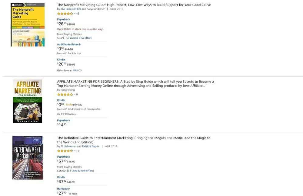selling books on amazon