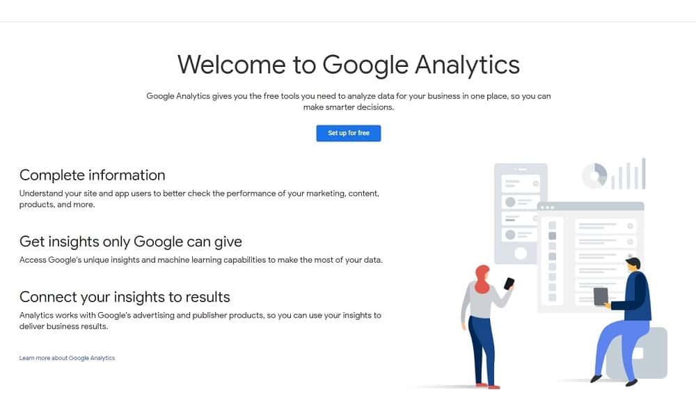 best tools for digital marketing - google analytics