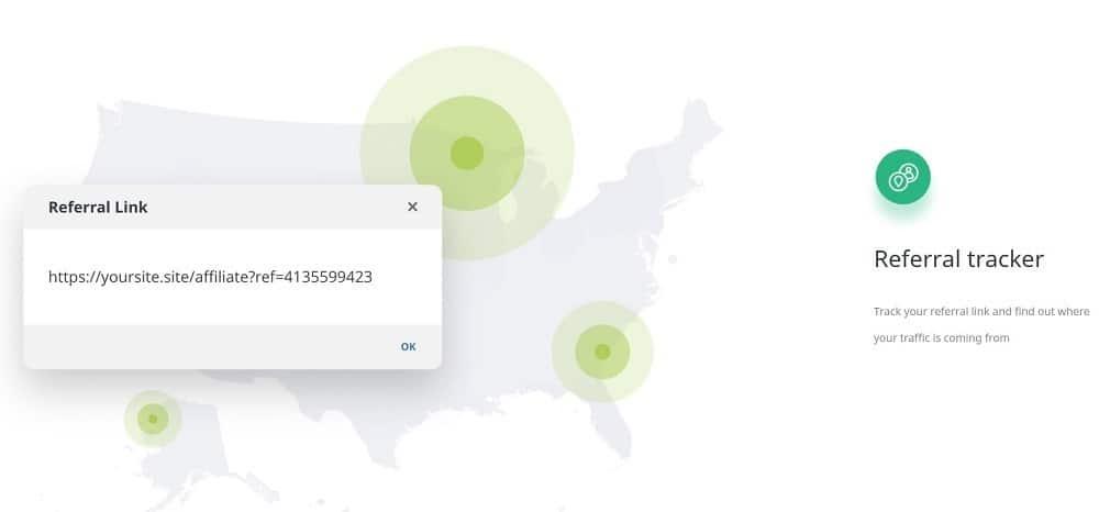 kyvio affiliate link tracker