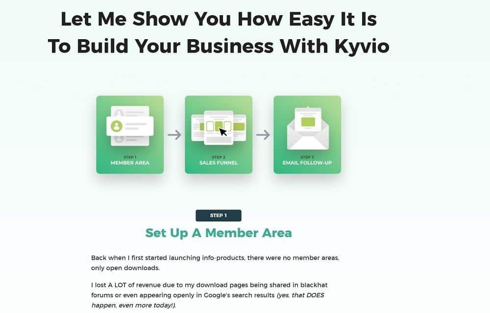 kyvio smart membership member area