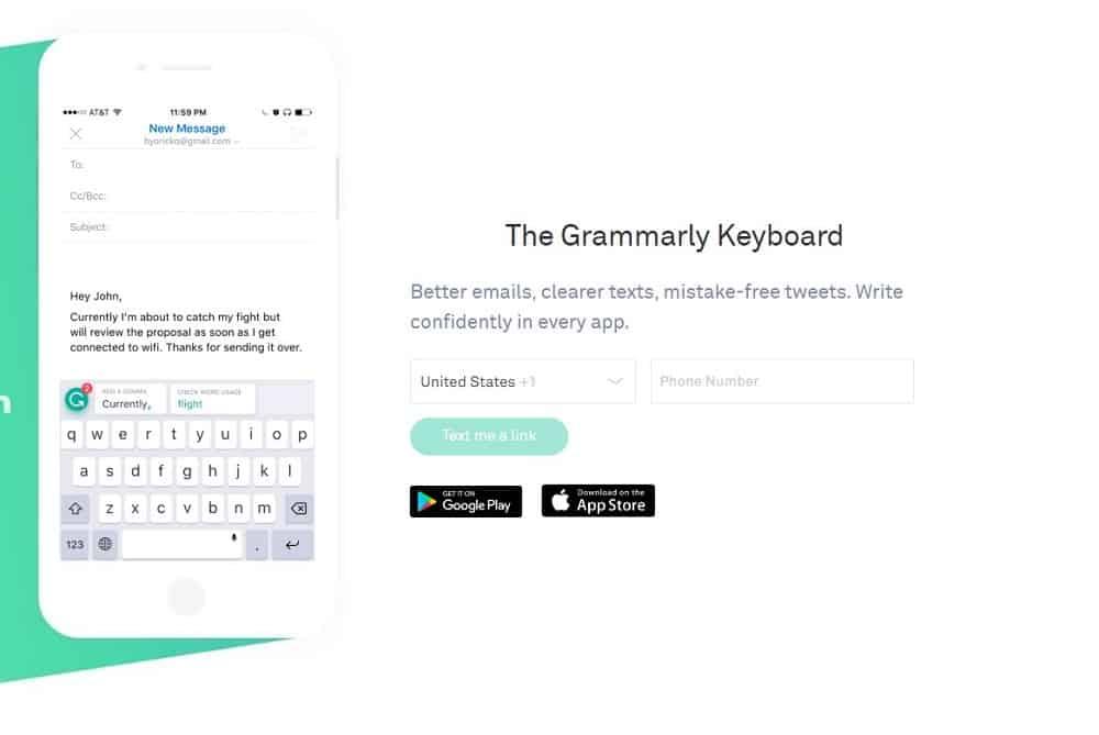 The Grammarly Keyboard